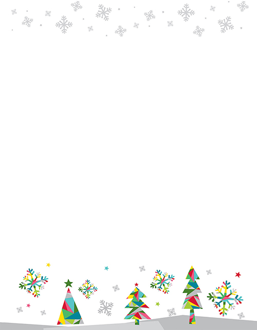Great Papers - Prismatic Holiday Letterhead 80