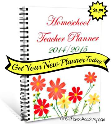 Instant Download Homeschool Planner