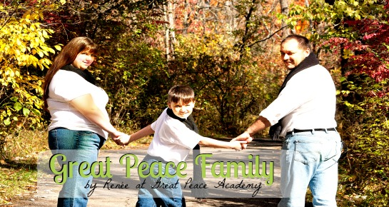A Great Peace Family is a family seeking peace through Biblical family roles found at Great Peace Academy.