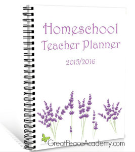 Homeschool Teacher Planenr