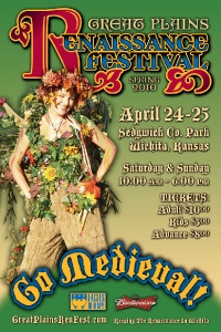 2010 Spring Great Plains Renaissance Festival Poster #2