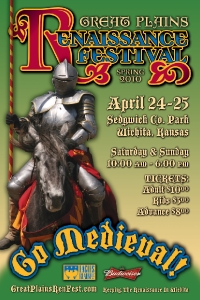 2010 Spring Great Plains Renaissance Festival Poster #1