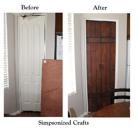 Barn Door Before and After