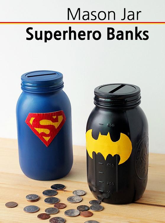 Mason-Jar-Superhero-Banks-Fireflies-and-Mud-Pies