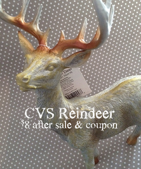 cvs reindeer detail type