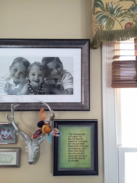 Irish blessing framed