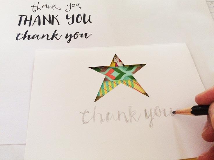 greco design_star card writing