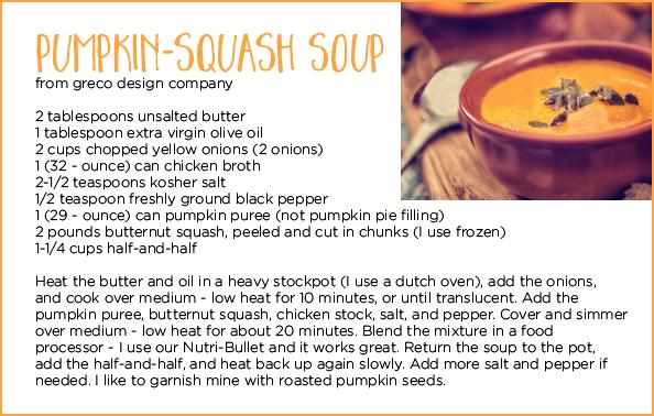 pumpkin squash soup recipe