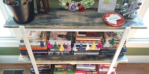 bookshelf feature
