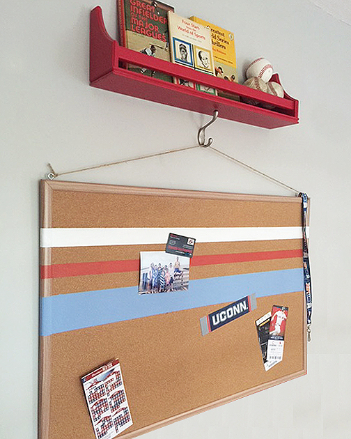 Easy Wall Art Ideas Chapter One Painted Cork Board
