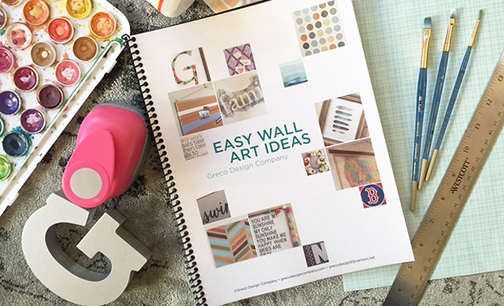 FREE Booklet | Easy Wall Art Ideas Series