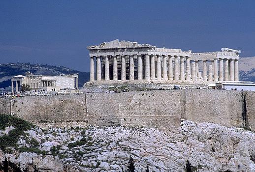 King Of The Hill Iphone Wallpaper Greek Pantheon Acropolis