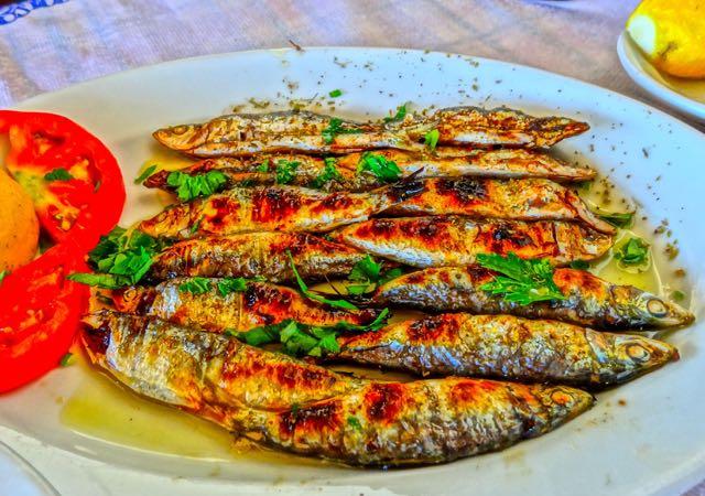 Sardeles Pastes The Sardine Sushi Of Greece