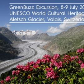 GreenBuzz invites: Excursion to the Aletsch Glacier, 8-9 July