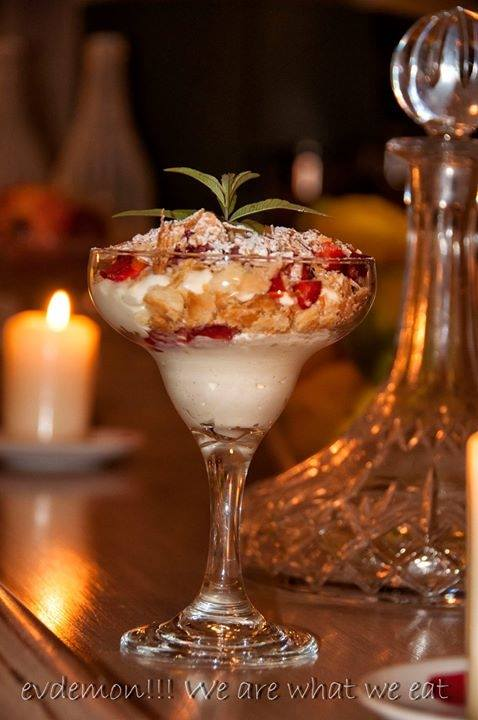Luxurious dessert