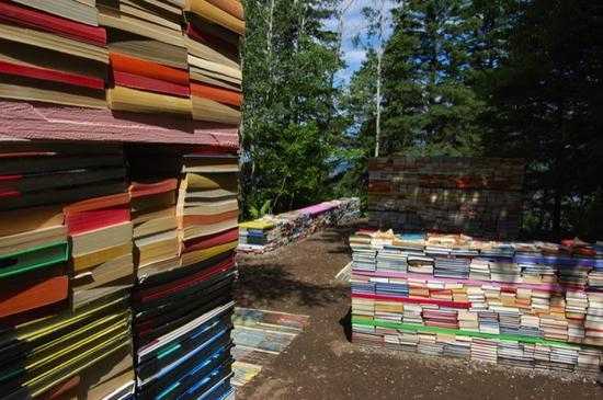 jardin de la connaissance book installation 3