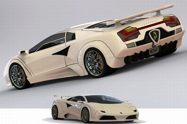 Lamborghini Countach ev