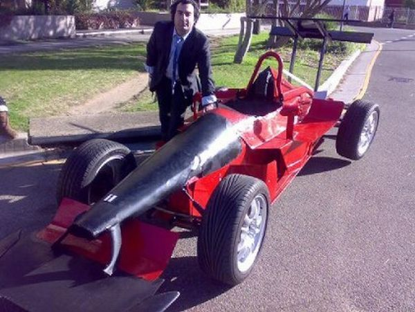 Ramon's recycled ferrari