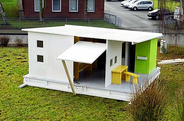 Recycled Paper House
