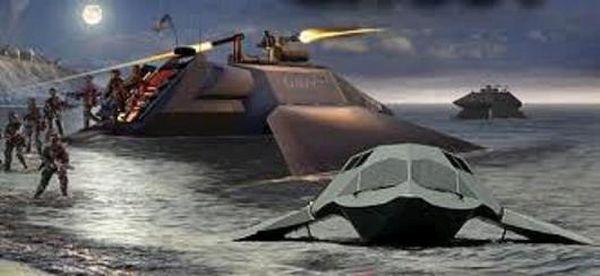 Supercavitation Ghost Boat