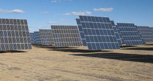 Aligned solar cells