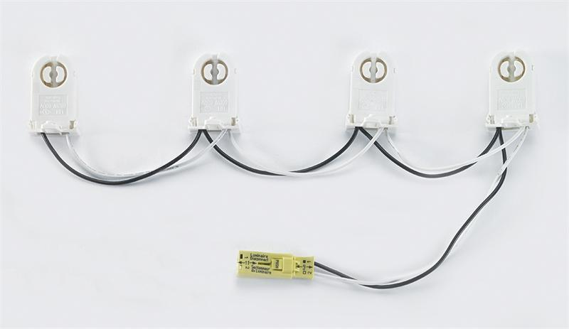 Two (2) socket standard non-shunted wiring harness with power quick