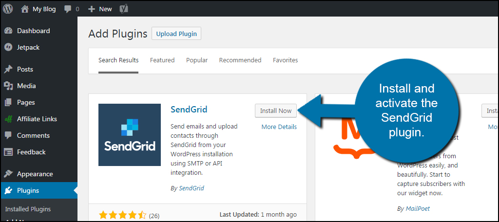 How to Set Up SendGrid for WordPress Email Delivery - GreenGeeks - sendgrid email templates