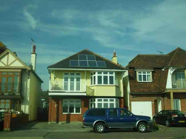 Eco home in Southend