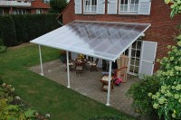 Palram Feria 4m Patio Cover in 2 Lengths | Greenhouse Stores