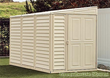 Duramax 4x8 Sidemate Plastic Lean To Shed