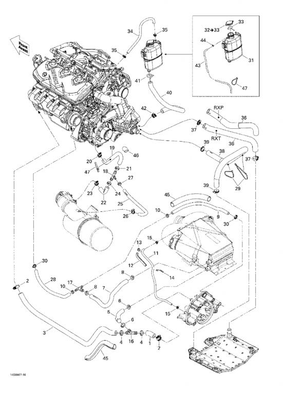 2001 seadoo gti engine diagram