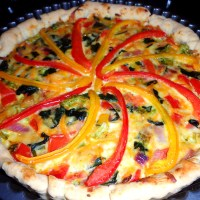 Homemade Vegetable Quiche