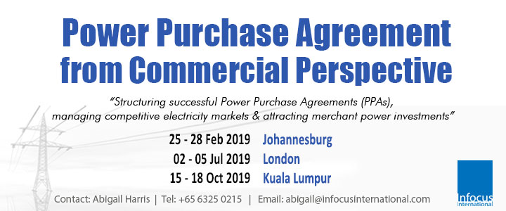 Power Purchase Agreement (PPA) from Commercial Perspective