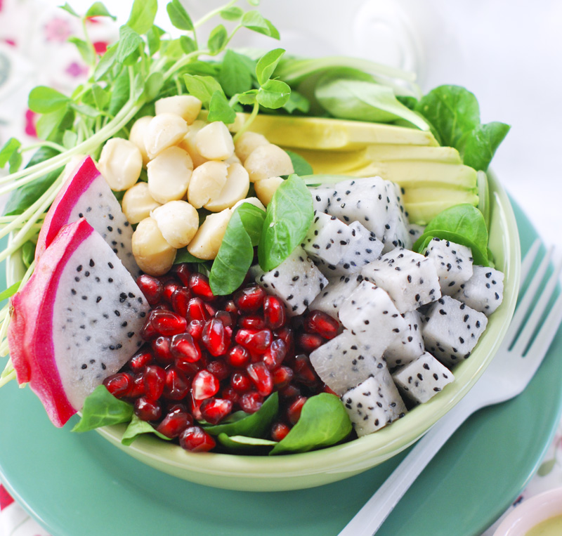how to eat dragon fruit in tamil