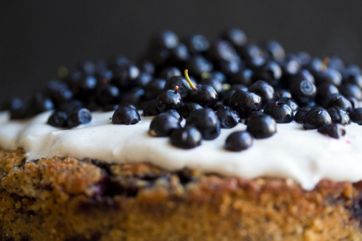Paleo Blueberry-Almond Bruschetta