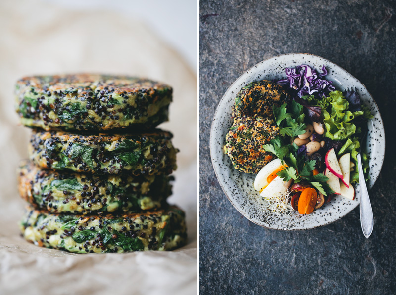 spinach quinoa patties makes 10 12 patties