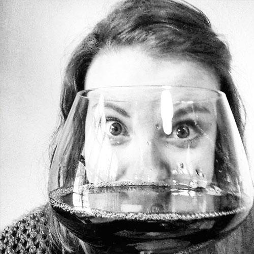 Lydia the Wine Drinker