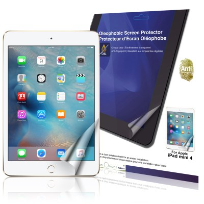 Crystal Oleophobic Screen Protector for Apple iPad mini 4 with Retina Display