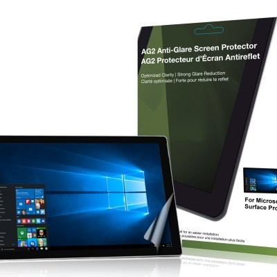 AG2 Anti-Glare Screen Protector for Microsoft Surface Pro 4