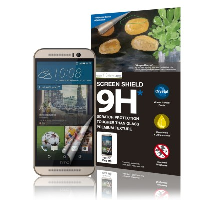 Crystal Oleophobic 9H Screen Shield for HTC One M9