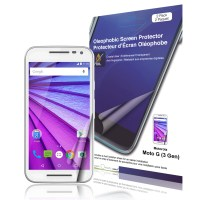 Crystal Oleophobic Screen Protector for Motorola Moto G (3rd gen, 2015)