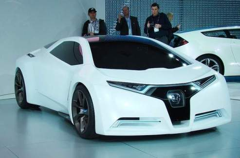 honda fc sport Sleekest Hydrogen Powered Sportscar: Honda FC Sport