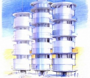 drinking water from potable air lmpy6 69 300x259 Solar Powered System Extracts Potable Water from Air