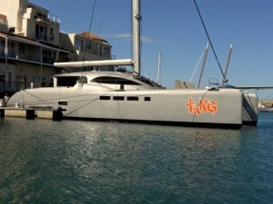 TangYacht large 540x405 300x225 Tang: The Newest Wind Powered Yacht, Charging Batteries Even When Sails Are Down