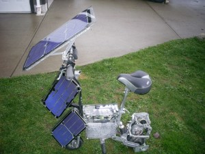 thekpv2 300x225 THEKPV: A Real Solar Powered Bike With Regenerative Braking Built by DIYer