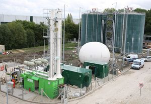 uktownusingf Didcot, UK, Heated by Odorless Human Waste Biogas
