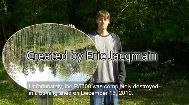 eric jacqmain solar concentrator Happy New Year ! Here are 2011s Hottest Green News