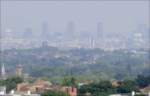 london pollution bbc 300x193 Happy New Year ! Here are 2011s Hottest Green News