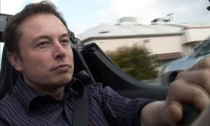 elon musk driving roadster 300x180 Hot: Elon Musks Electric Car Vision in Newly Released Interview
