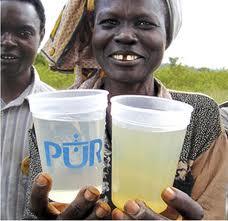 pur Water Purification Sachets to Aid Developing Countries